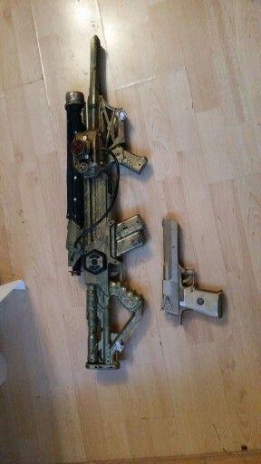 Railgun +sidearm