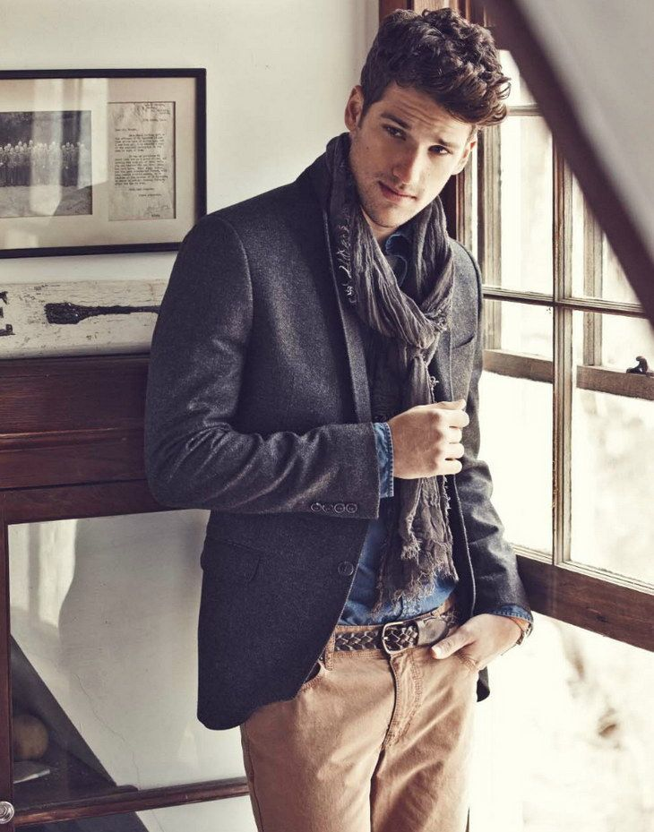Arthur Sales for Lexington Fall Winter 2013 2014 campaign. Easy enough and way stylish