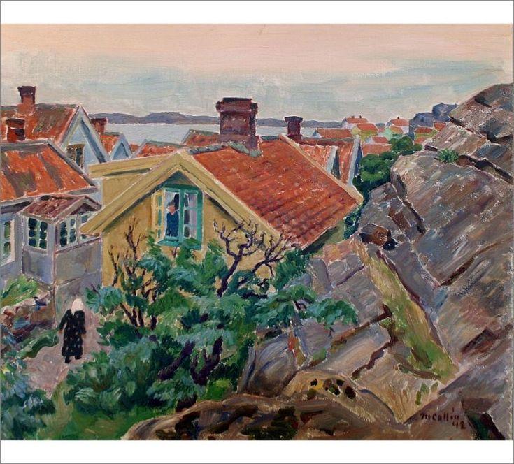 Artwork by Marcus Collin, Grundsund
