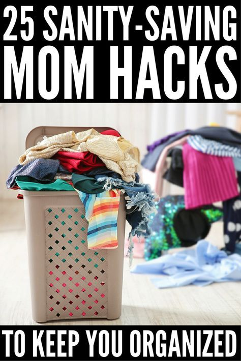 Organization Ideas for Moms: 25 Mom Hacks to Make Life Easier!