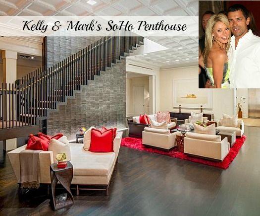 Kelly Ripa & Mark Consuelos Selling SoHo Penthouse