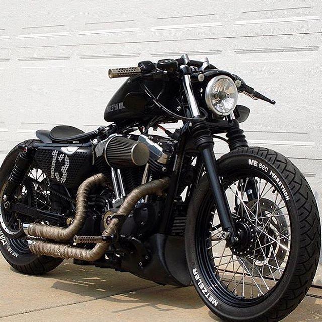 32 images+Harley Vintage Custom Bobber https://www.mobmasker.com/32-imagesharley-vintage-custom-bobber/ #harleydavidsoncustombobber