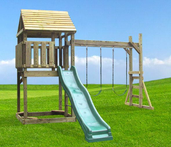 Wooden Swing Set - The Dreamtime