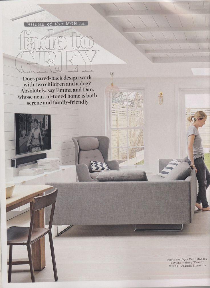 Triple feature in Living Etc Magazine