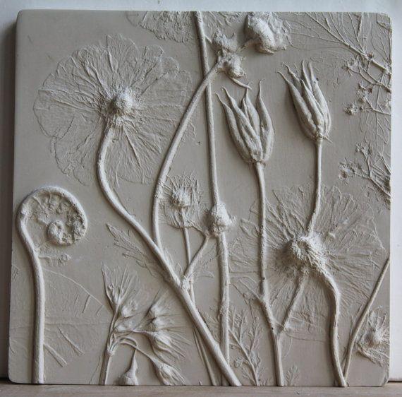 Rachel Dein - hand poured plaster tile