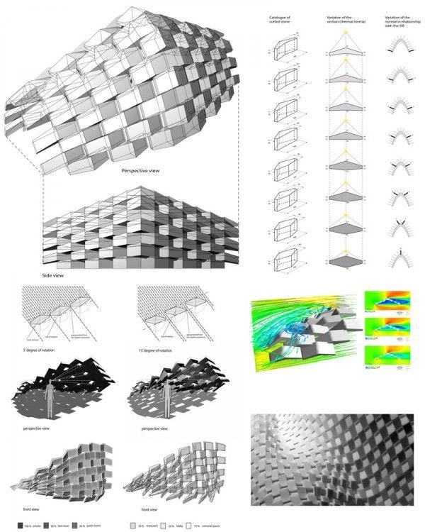 Les 16 meilleures images du tableau th mes param trique for Architecture parametrique