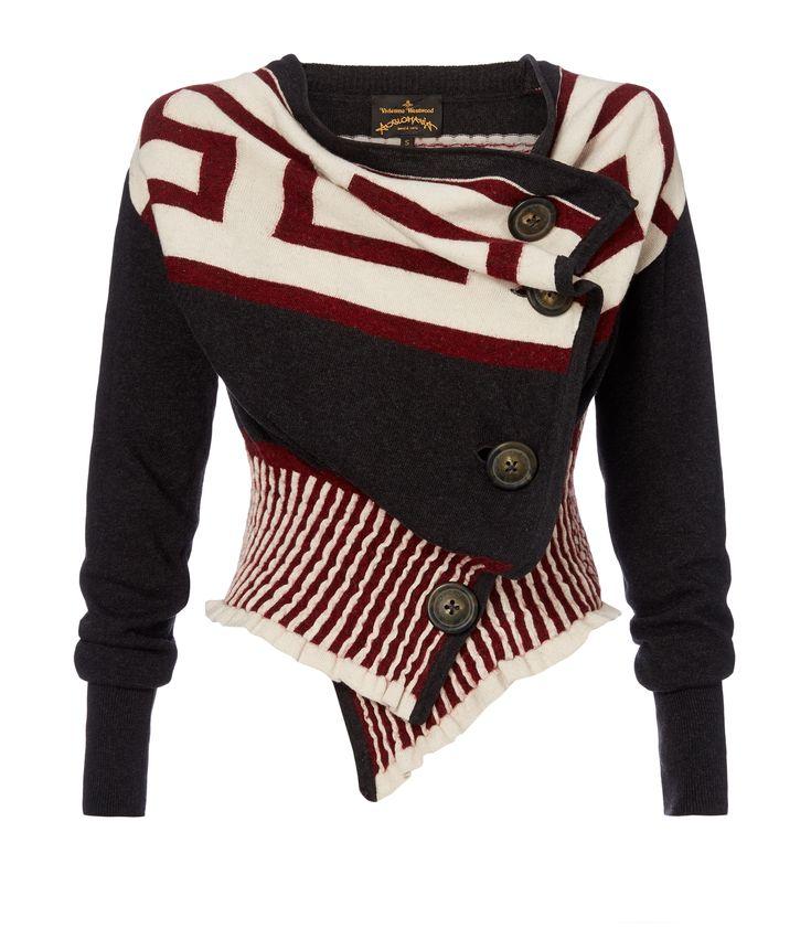 VIVIENNE WESTWOOD Concordia Cardigan. #viviennewestwood #cloth #