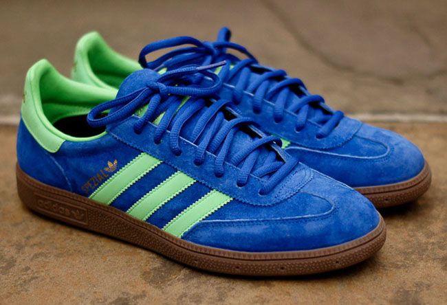 adidas Spezial | True Blue, Green Zest & Gum