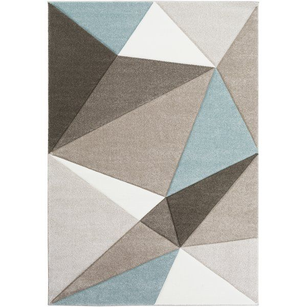 Colorful and unique, this Mott Street collection features unique geometric design that would look great in any space. Made from polypropylene, this rug features a super soft and comfy high pile. Rug pad recommended. Spot clean or professionally clean only.