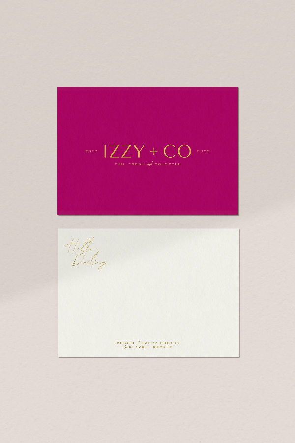 This Print Collateral Was Crafted For Izzy Co A Local Athens Georgia Photographer Izzy Sp Branding Website Design Boutique Graphic Design Website Branding