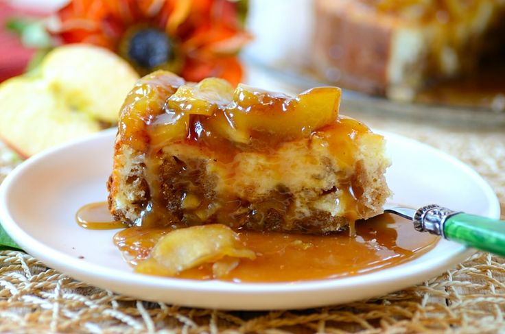 Caramel Apple-Brownie Cheesecake recipe - Foodista.com