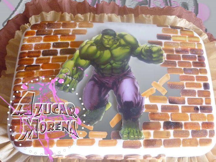 Hulk, El hombre Increíble (torta)