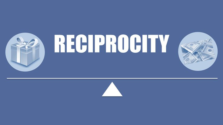 How to use reciprocity as a method of influence when creating and delivering memorable, persuasive sales presentations...