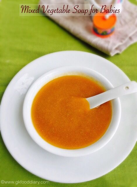 Soups are the best option to make the baby to eat vegetables as it is tasty and healthy. Vegetable dal soup is a colorful soup and make a wholesome meal for your baby. Dal is rich in protein and vegetables are good source of fiber and vitamins. Hence this vegetable dal soup is a best...Read More »