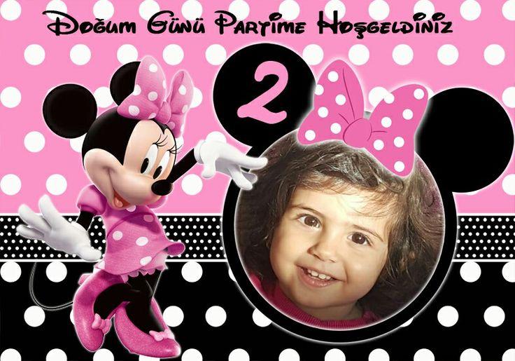 Minnie Mouse Doğum Günü afişi