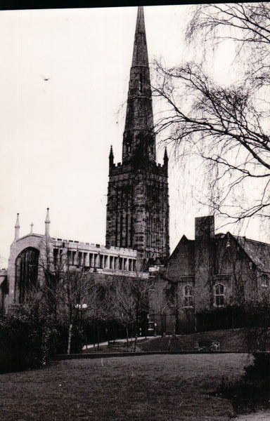 Holy Trinity Church - one of Coventry's 'Three Spires'