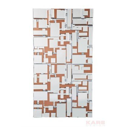 Lustro Maze 140x77, kare design