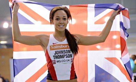 Katarina Johnson-Thompson goes for gold alone in Commonwealth Games • Heptathlete ready for battle with Brianne Theisen Eaton • James Dasa...