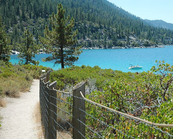 Hidden Beach at Lake Tahoe is just south of Incline Village and offers a wonderful escape to one of Lake Tahoe's best beaches. The clear water, giant boulders and sandy beach will want you coming back for more. Trails give access to this Tahoe beach and bathrooms open during the summer.