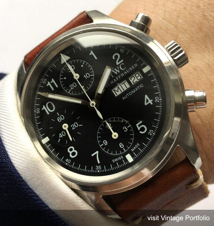 Original IWC Fliegerchronograph