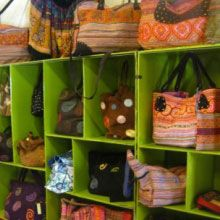 Wonderful fair-trade shopping at Reaching Out, Hoi An