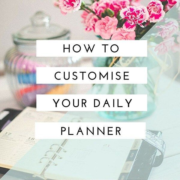 The 25+ best Custom daily planner ideas on Pinterest Workout - free download daily planner