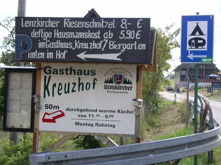 Campingplatz Kreuzhof Lenzkirch Zwarte Woud Duitsland augustus 2006
