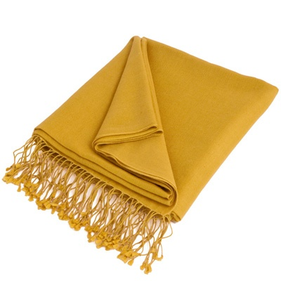 Golden Yellow Pashmina by ColorMeSocks™