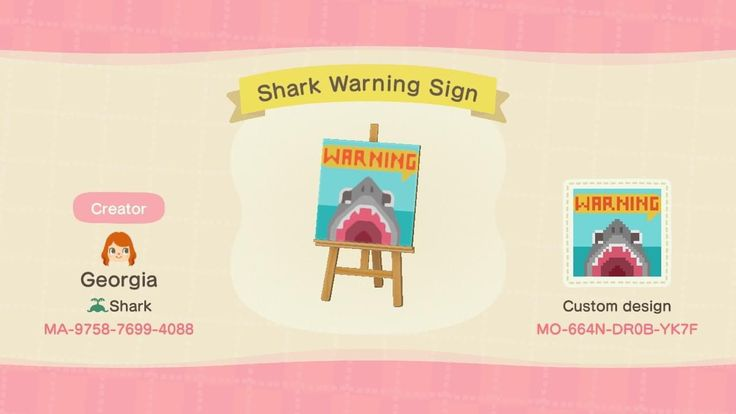 10+ Sharks in animal crossing images