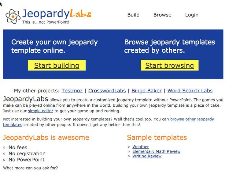 lovely jeopardy free template photos - resume ideas - namanasa, Powerpoint templates
