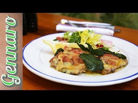 Veal Escalope Recipe with Gennaro - YouTube
