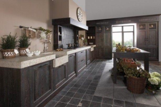 Afmetingen Keuken Restaurant : Keuken Landelijke Stijl