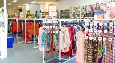 Vinnies Wendouree has moved to a bigger and brighter store which is about five times the size of the previous store so even more quality goods to see.