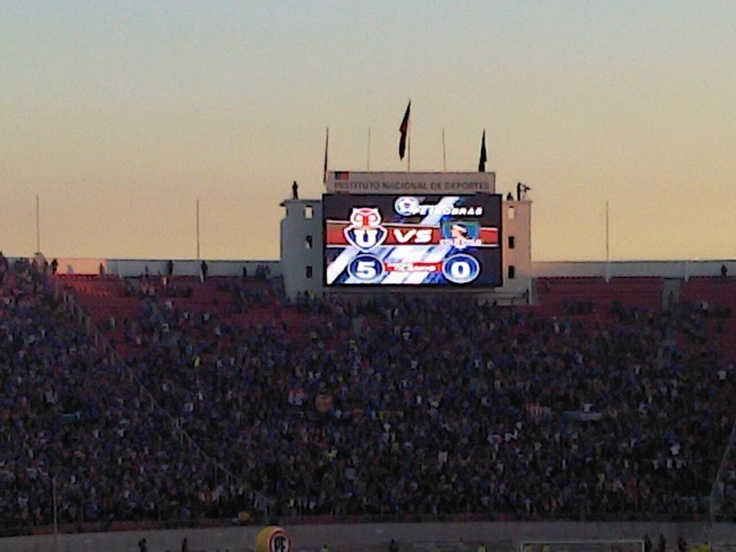 Universidad de Chile 5 - 0 Colo Colo Un momento para la historia.