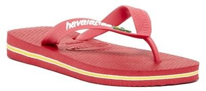Havaianas Brazil Logo Flip Flop (Toddler, Little Kid, & Big Kid)