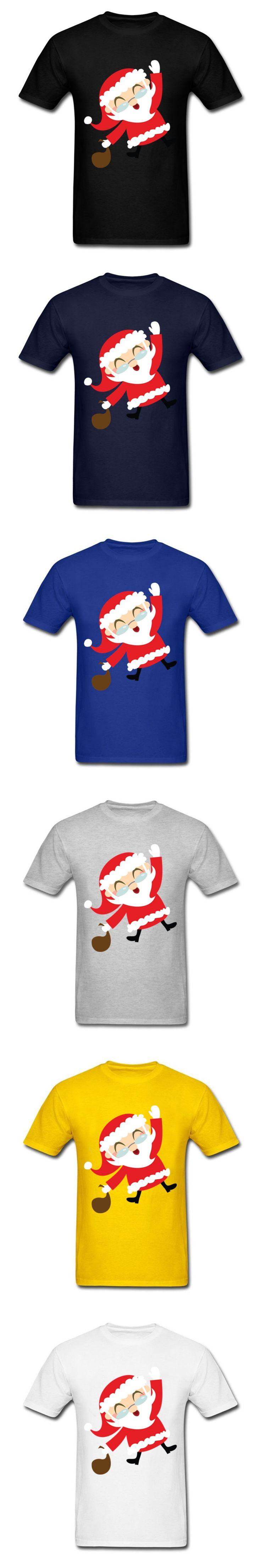 Ugly Christmas Santa Claus Tees Shirt For Men women Brand Clothing Short Sleeve Custom XS-XXXL  T Shirts