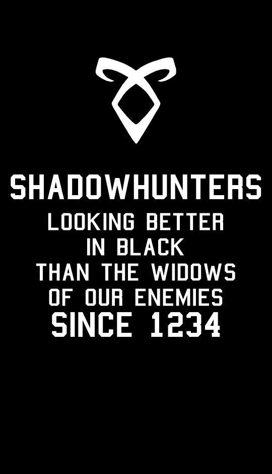 Wallpaper cazadores de sombras