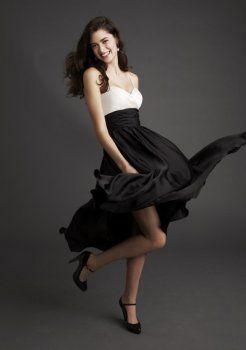 robe de demoiselle court