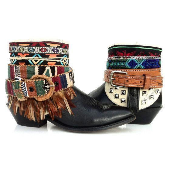 Gypsy bottes femmes Boho  bottes de Wilde  par WildeFlowerDesign