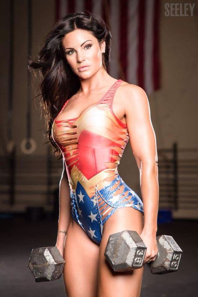 from Camron girls with muscle cosplay