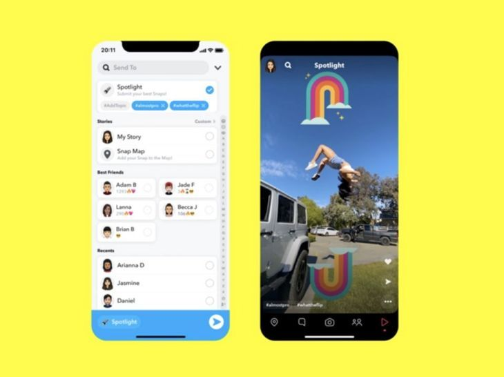 Snapchat Rilis Spotlight Untuk Saingi Tiktok Tip Trik Panduan Android Indonesia Video Lucu Lucu Snapchat