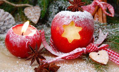 Apfel mit Stern