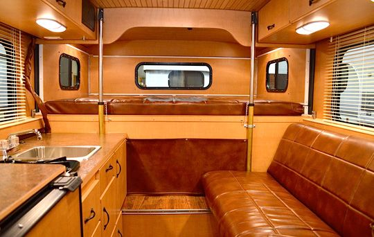 Alaskan Campers announces the 2015 Alaskan 6.5; a hard side pop-up for short bed trucks with a leather sofa.  It's the first new floor plan in six years.