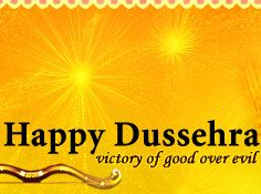 May This Dussehra Light Up For You The Hopes Of Happy Times And Dreams For A