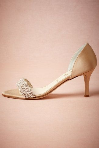 If I were to do heels...Oyster Bed dOrsays from BHLDN