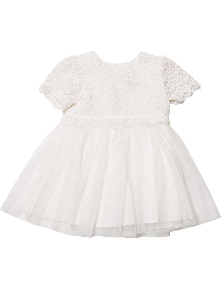 Bebe Lace Bodice Short Sleeve Dress   David Jones
