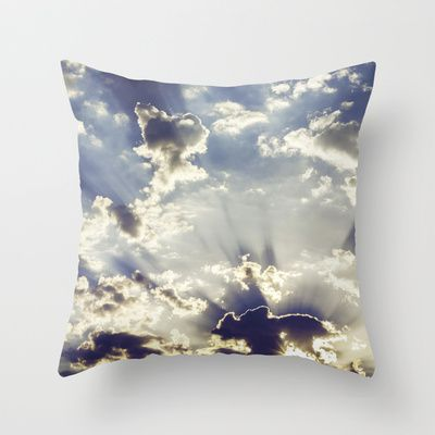 Oslo Sky  Throw Pillow by Håkon Jørgensen - $20.00