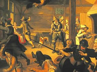 Der 30-jährige Krieg (1618 - 1648):  Krieg um Glaube und Macht - Katholiken gegen Protestanten