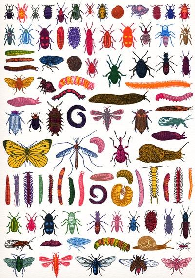 Garden Pests poster