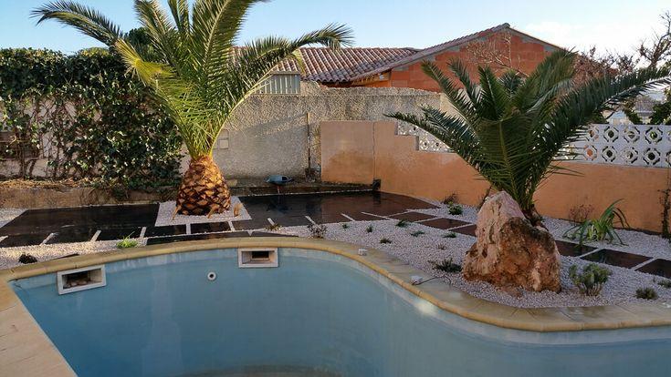 Aménagement exterieur piscine: après